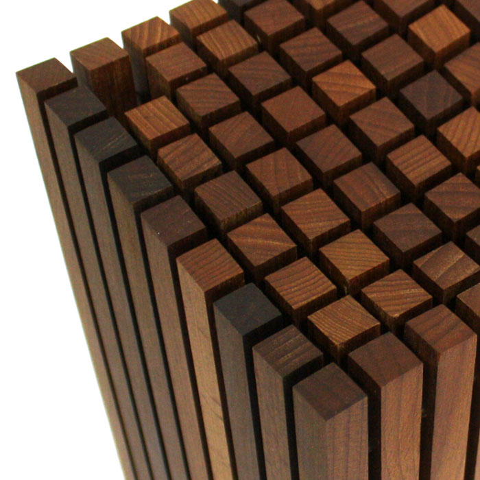 Wusthof Birchwood Grid Knife Block 13 Slot Cutlery And More