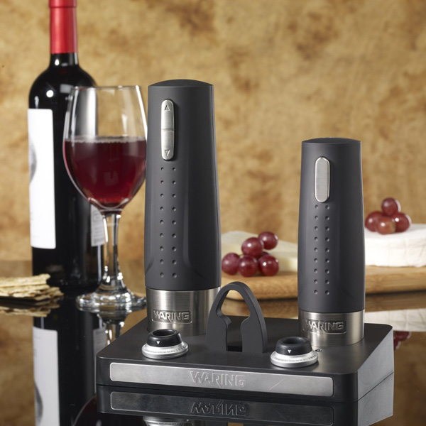 Waring Pro Cordless Electric Wine Opener Amp Preserver Set