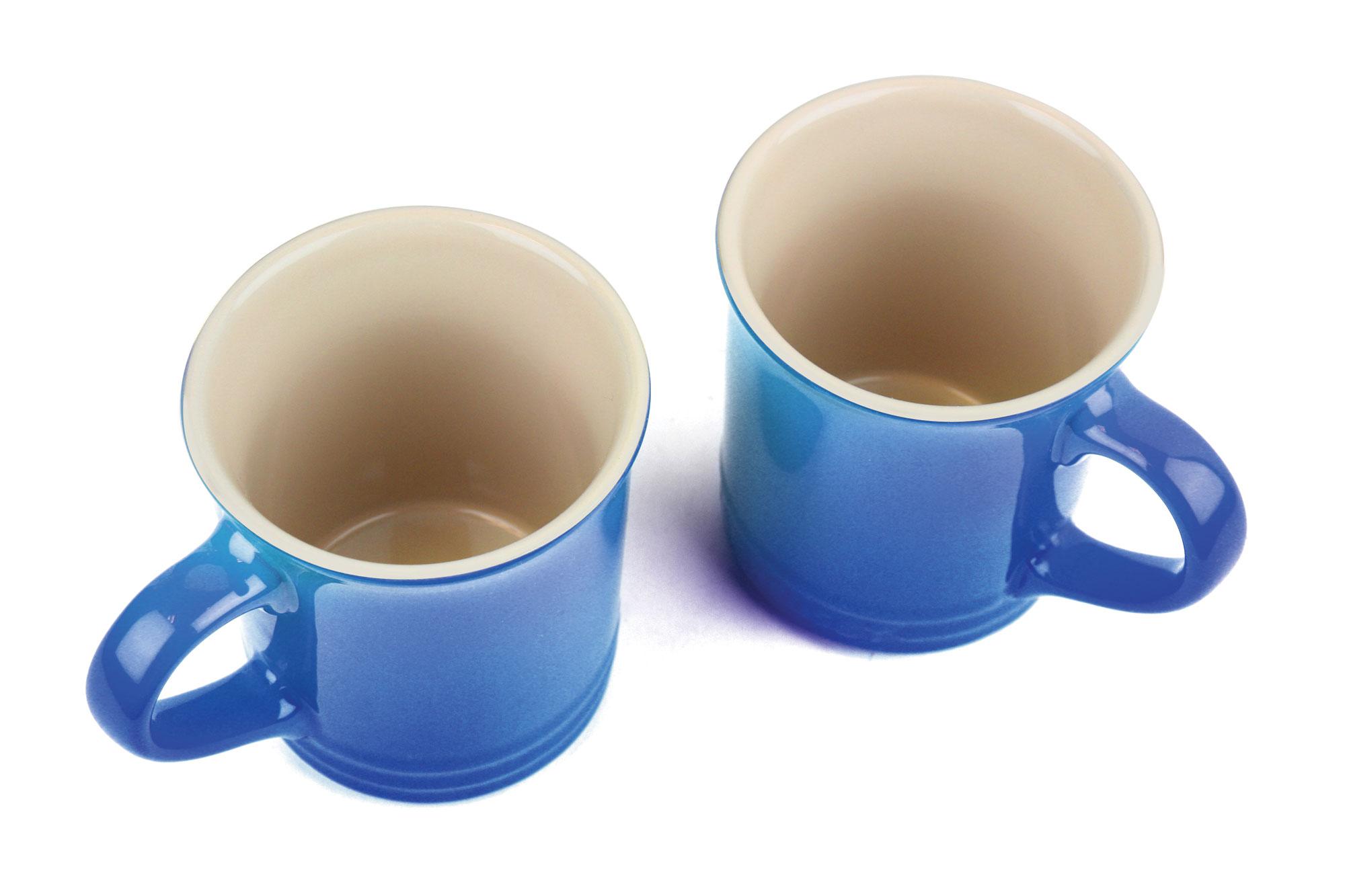 Le Creuset Enameled Steel Peruh Tea Kettle And Mug Set 1
