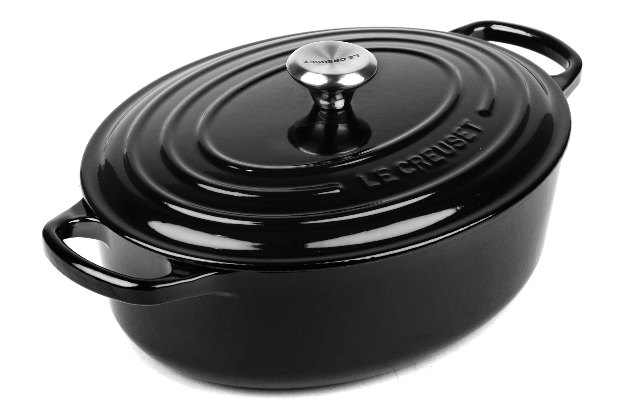Le Creuset Signature Cast Iron Oval Wide Dutch Oven 3 5