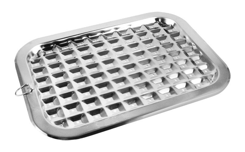 Norpro Stainless Steel Broiler Pan 17 X 12 Inch Cutlery