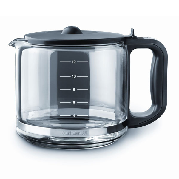 Calphalon Quick Brew Glass Carafe Coffee Maker, 12-cup Cutlery and More