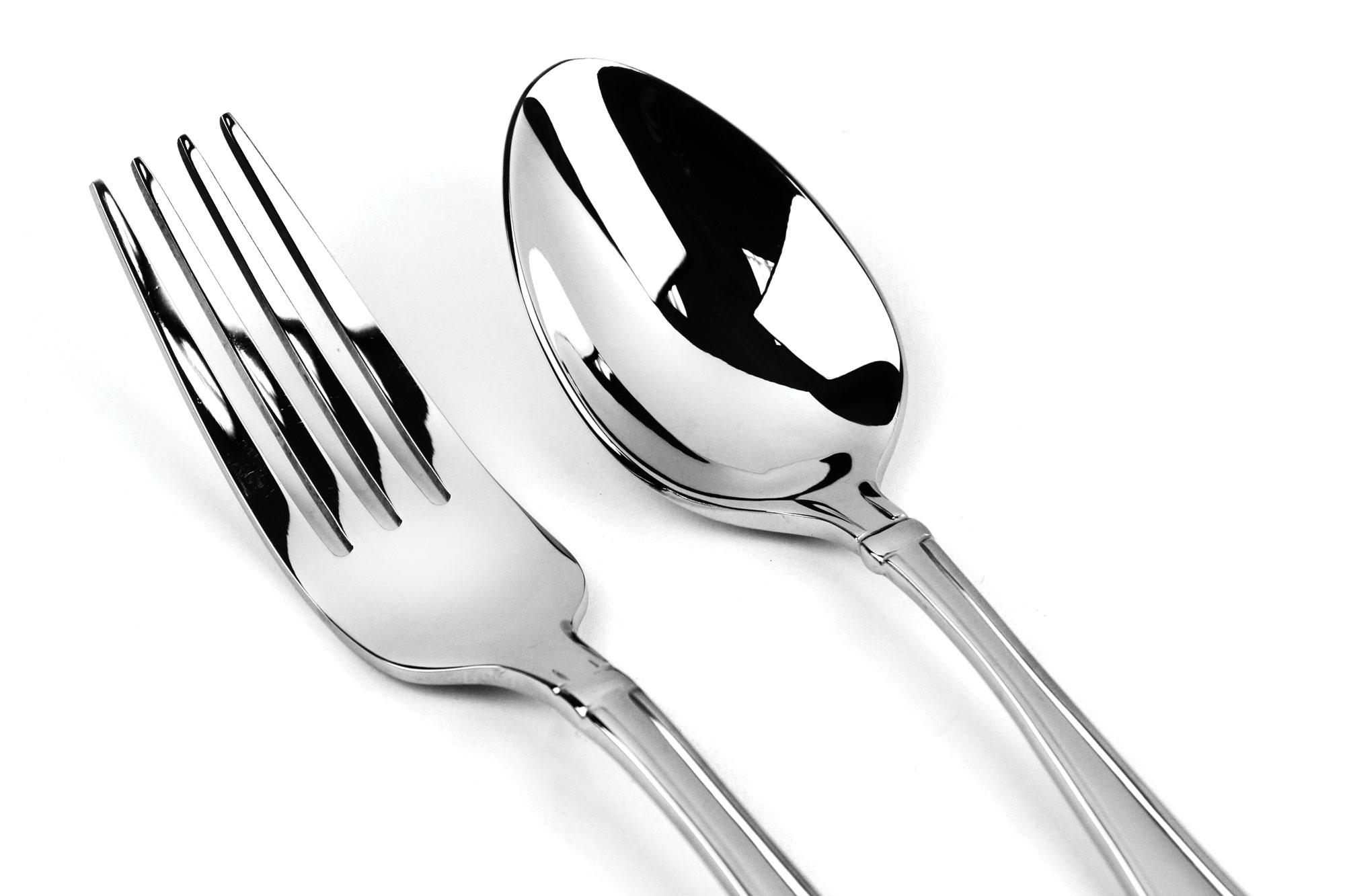Oneida Satin Garnet Stainless Steel Flatware Set 65 Piece