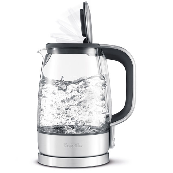 Breville Crystal Clear Glass Electric Kettle 7 Cup