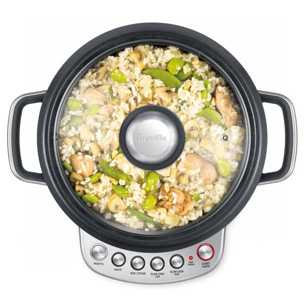 Breville Risotto Plus Combination Slow Cooker 4 Quart