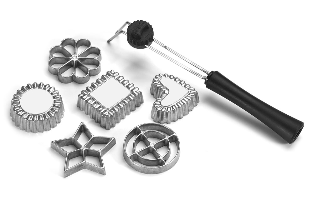 Nordicware Swedish Rosette Timbale Amp Cookie Set 6 Piece