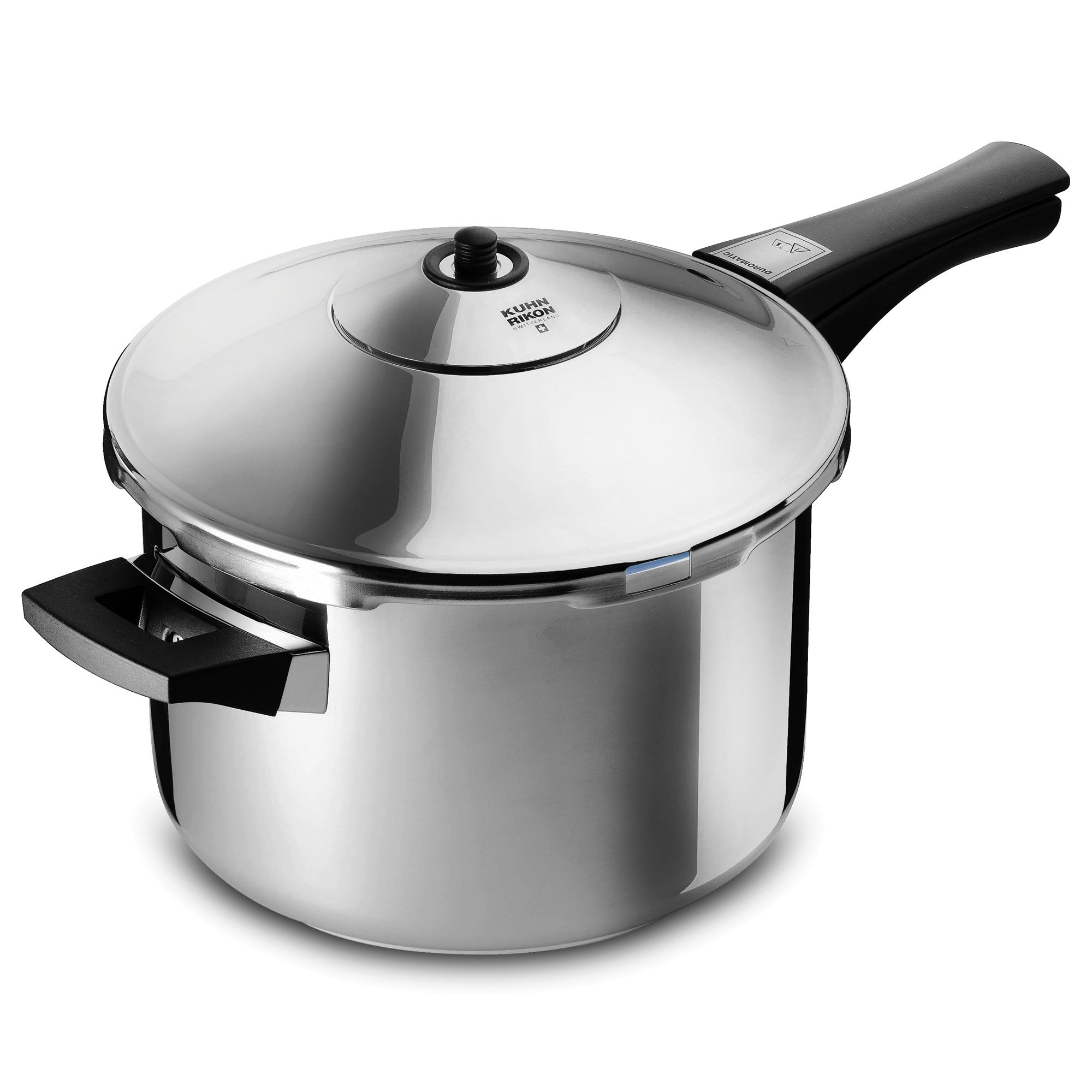 kuhn rikon duromatic stainless steel saucepan pressure cooker 5 quart cutlery and more. Black Bedroom Furniture Sets. Home Design Ideas