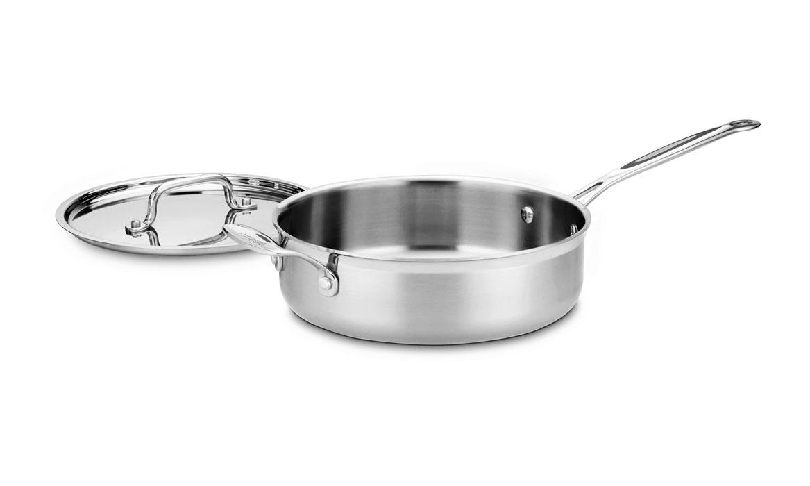 Cuisinart Multiclad Pro Stainless Steel Saute Pan 3 5