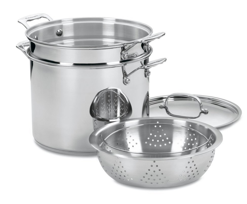 Cuisinart Chef S Classic Stainless Steel Pasta Amp Steamer