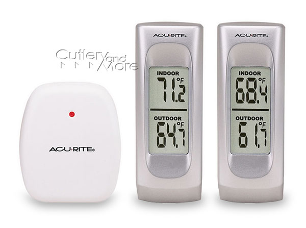 Acu Rite Digital Indoor Amp Outdoor Wireless Thermometer