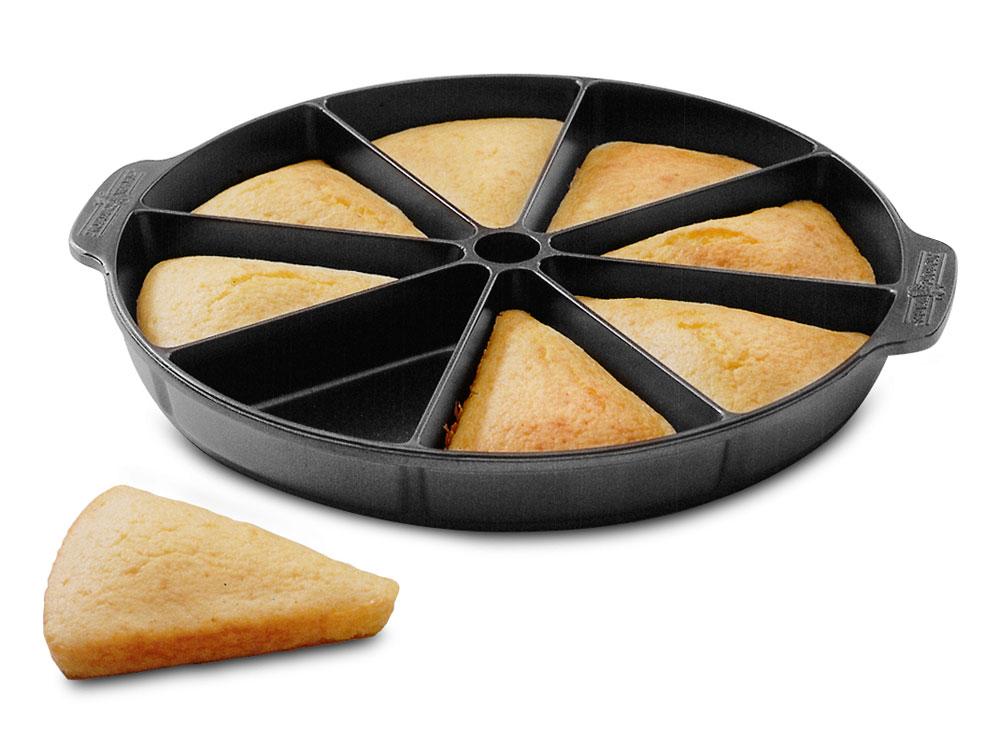 Nordicware Round Scottish Scone Amp Cornbread Pan 9 75 Inch