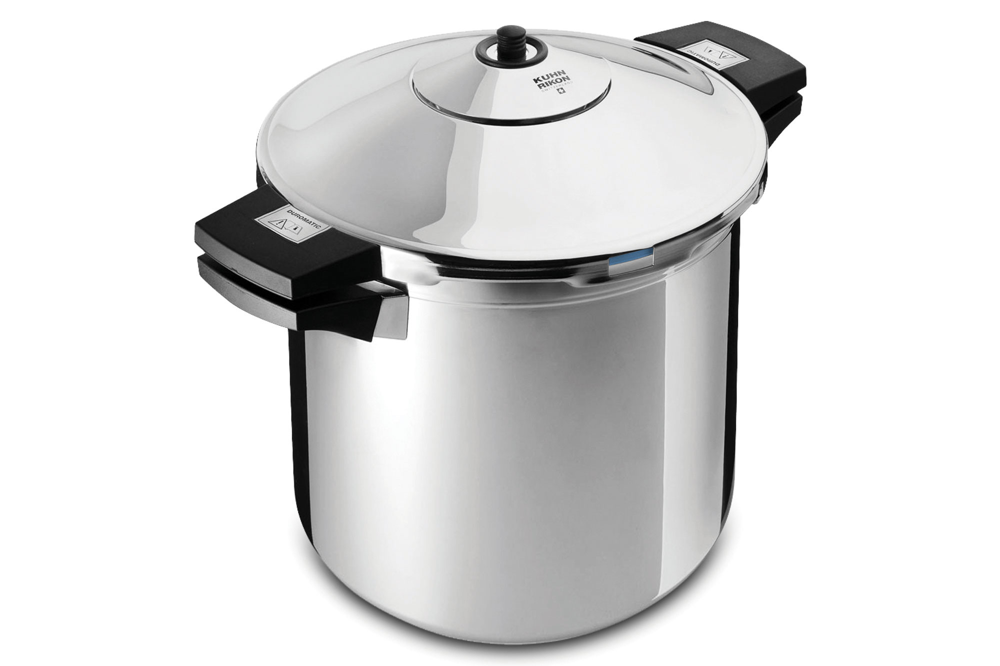 kuhn rikon duromatic stainless steel stock pot pressure cooker 8 quart cutlery and more. Black Bedroom Furniture Sets. Home Design Ideas