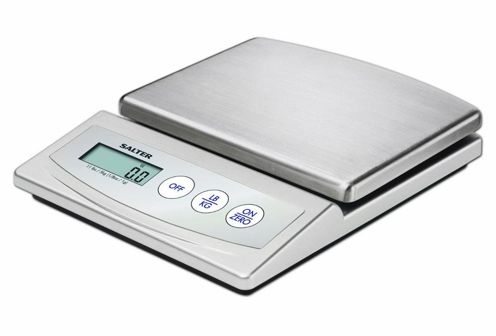 salter digital stainless steel kitchen scale 11 pound. Black Bedroom Furniture Sets. Home Design Ideas