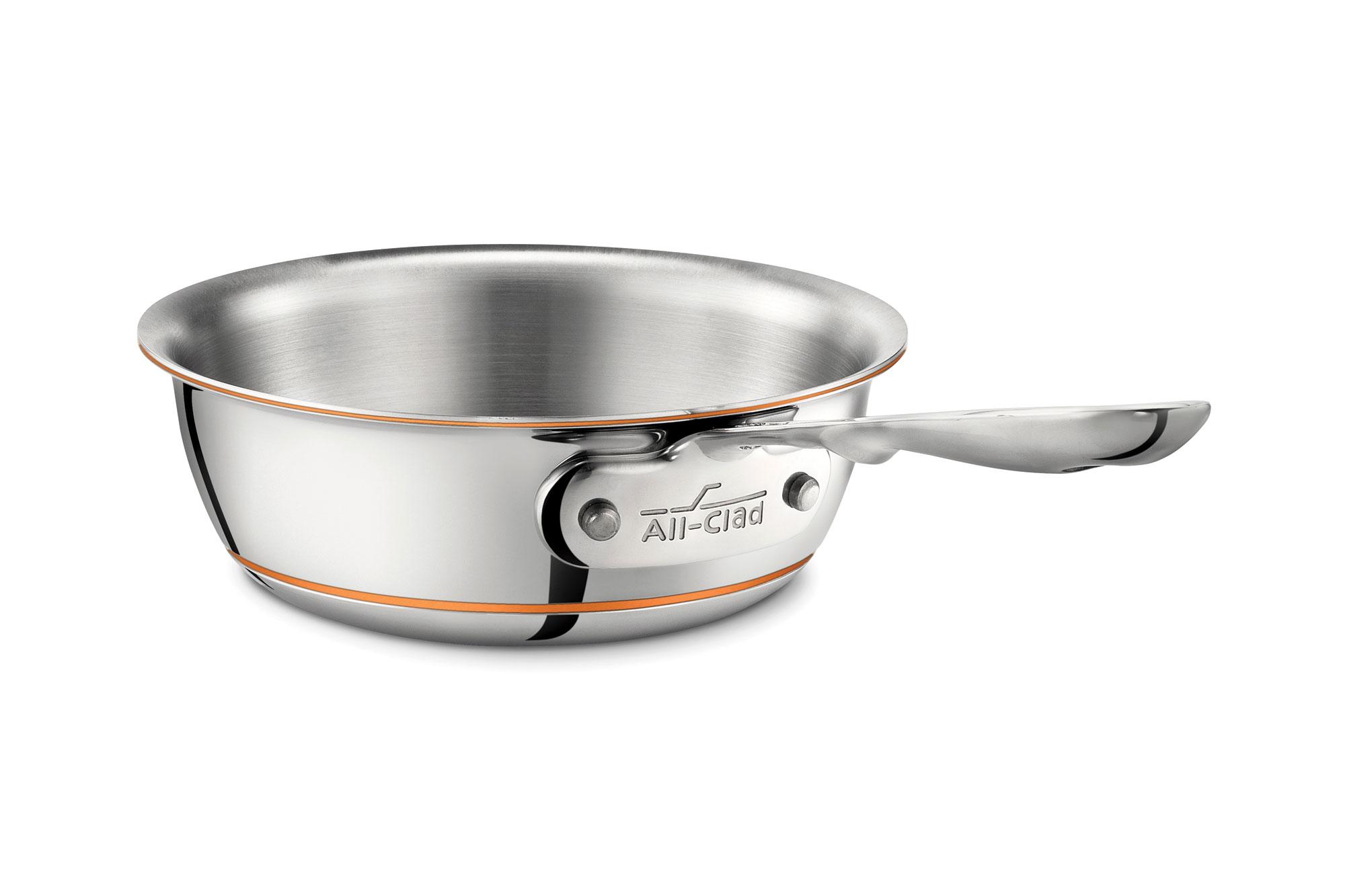All Clad Copper Core Open Saucier 1 Quart Cutlery And More