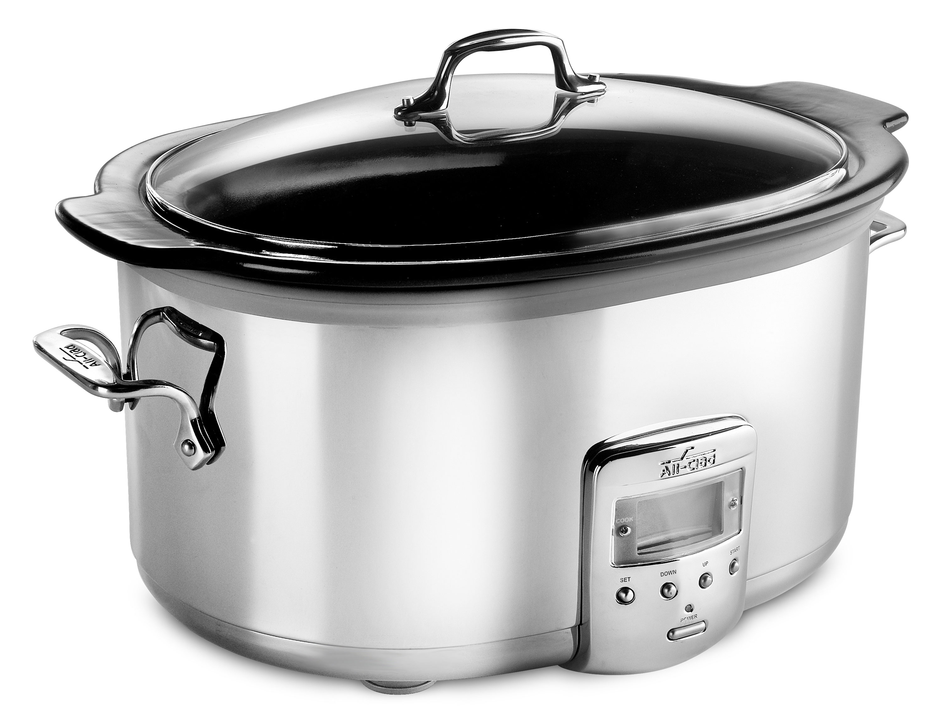 All Clad 6 5 Quart Stainless Steel Electric Slow Cooker