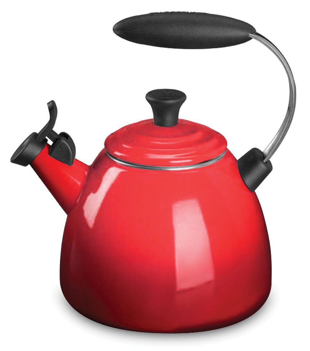 Le Creuset Enameled Steel Halo Tea Kettle 1 5 Quart