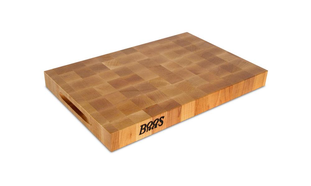 John Boos Maple End Grain Cutting Board 18x12x175