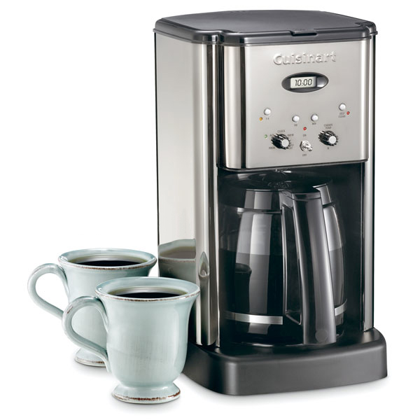 Cuisinart Coffee Maker Matte Black : Cuisinart Brew Central Coffee Maker, 12-cup Black Chrome Cutlery and More