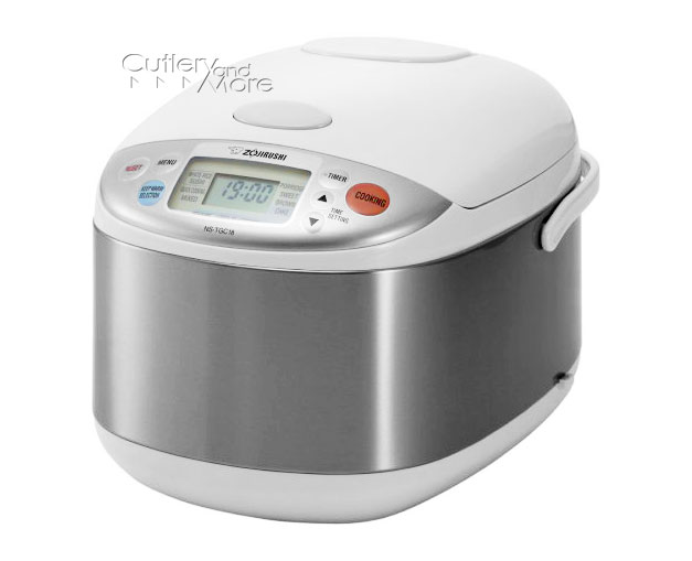 Zojirushi Stainless Steel Micom Rice Cooker Amp Warmer 10