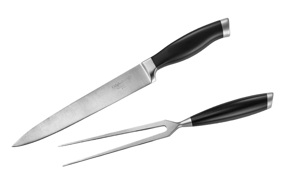 Calphalon Contemporary Carving Set 2 Piece Cutlery And More