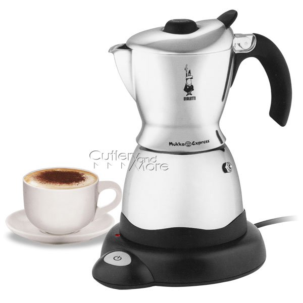 Bialetti Electric Mukka Express Cappuccino Maker 1 Cup