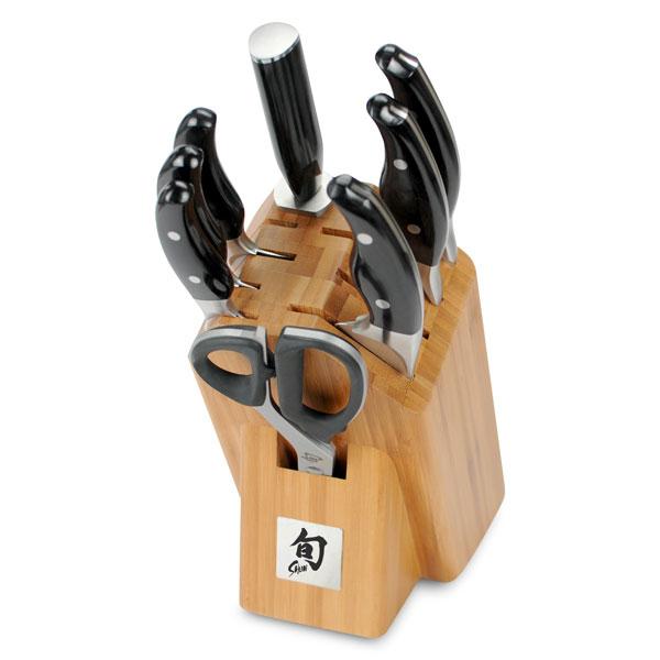 Shun Ken Onion 9 Piece Knife Block Set