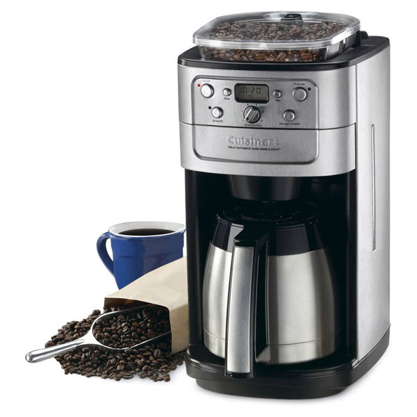 Cuisinart Grind Amp Brew Thermal Automatic Coffee Maker With