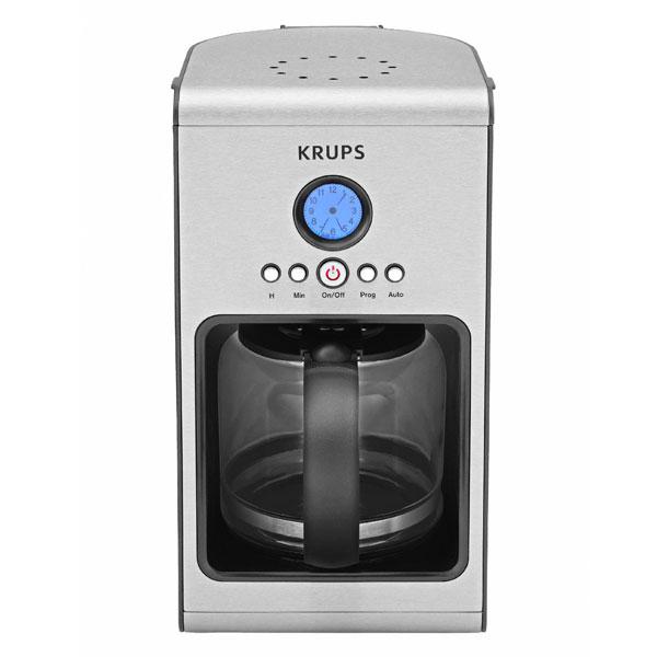 Krups Prelude Stainless Steel Programmable Coffee Maker