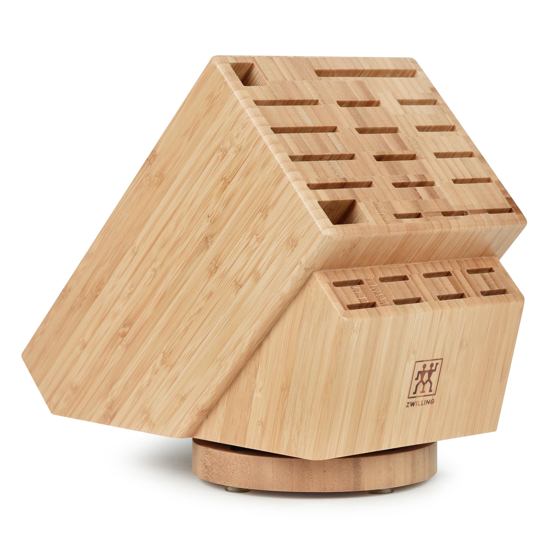 Zwilling J A Henckels Bamboo Swivel Knife Block 26 Slot