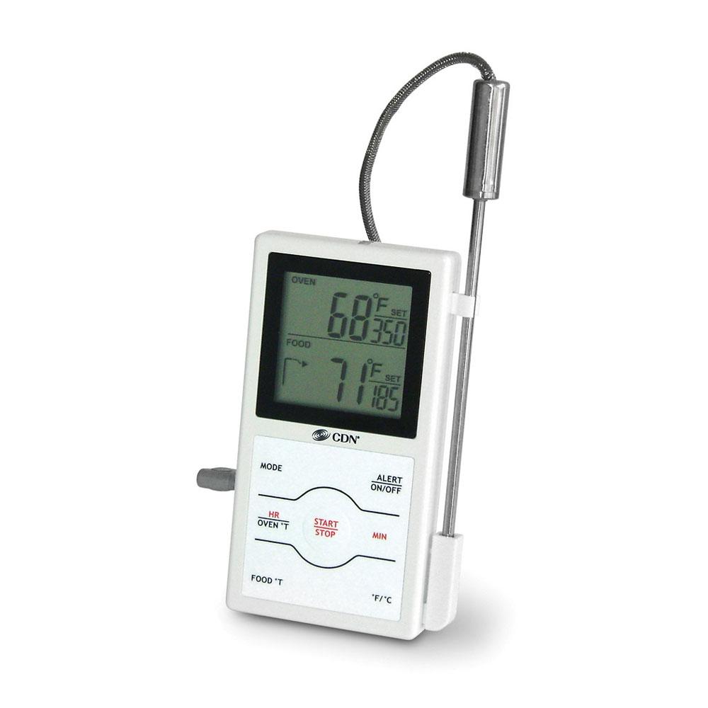 Cdn Digital Dual Sensing Probe Thermometer Amp Timer