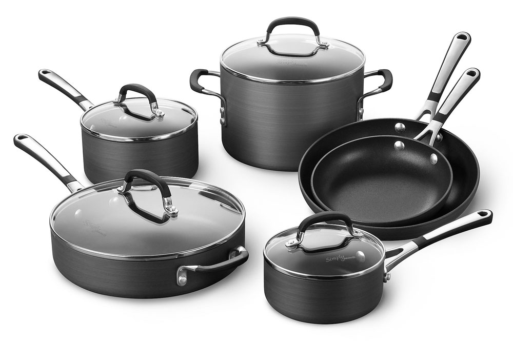 Calphalon Simply Nonstick Premier Cookware Set 10 Piece