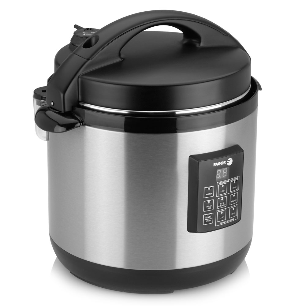 Fagor Stainless Steel Electric Multi Cooker 6 Quart