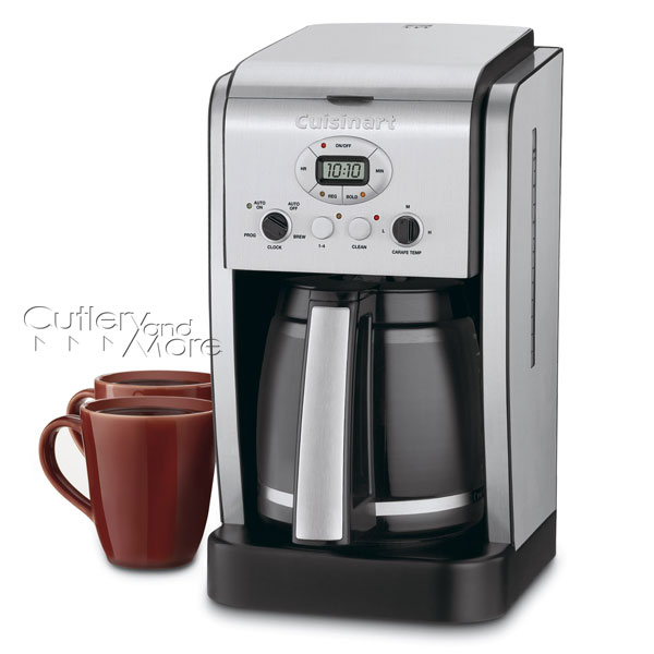 Cuisinart Coffee Maker Matte Black : Cuisinart Brew Central Programmable Coffee Maker, 14-cup Cutlery and More