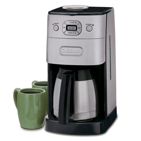 Cuisinart Coffee Maker How Much Coffee To Use : Cuisinart Grind & Brew Thermal Automatic Coffee Maker, 10 ...