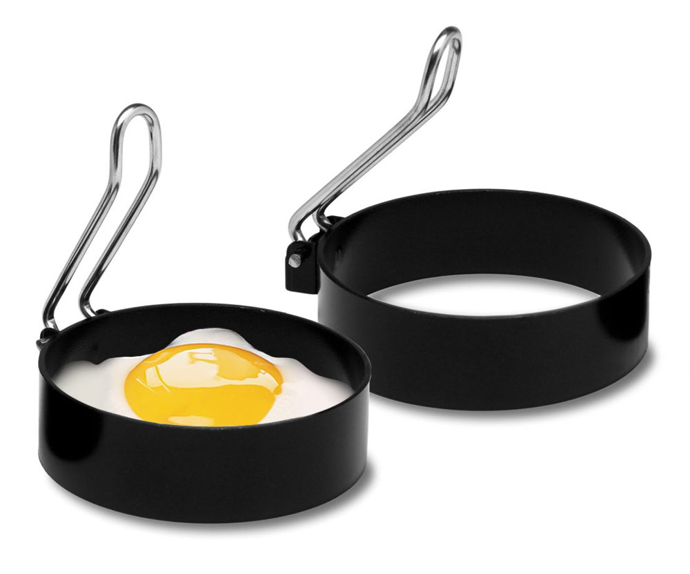 Amco Round Nonstick Egg Rings 2 Pack Cutlery And More