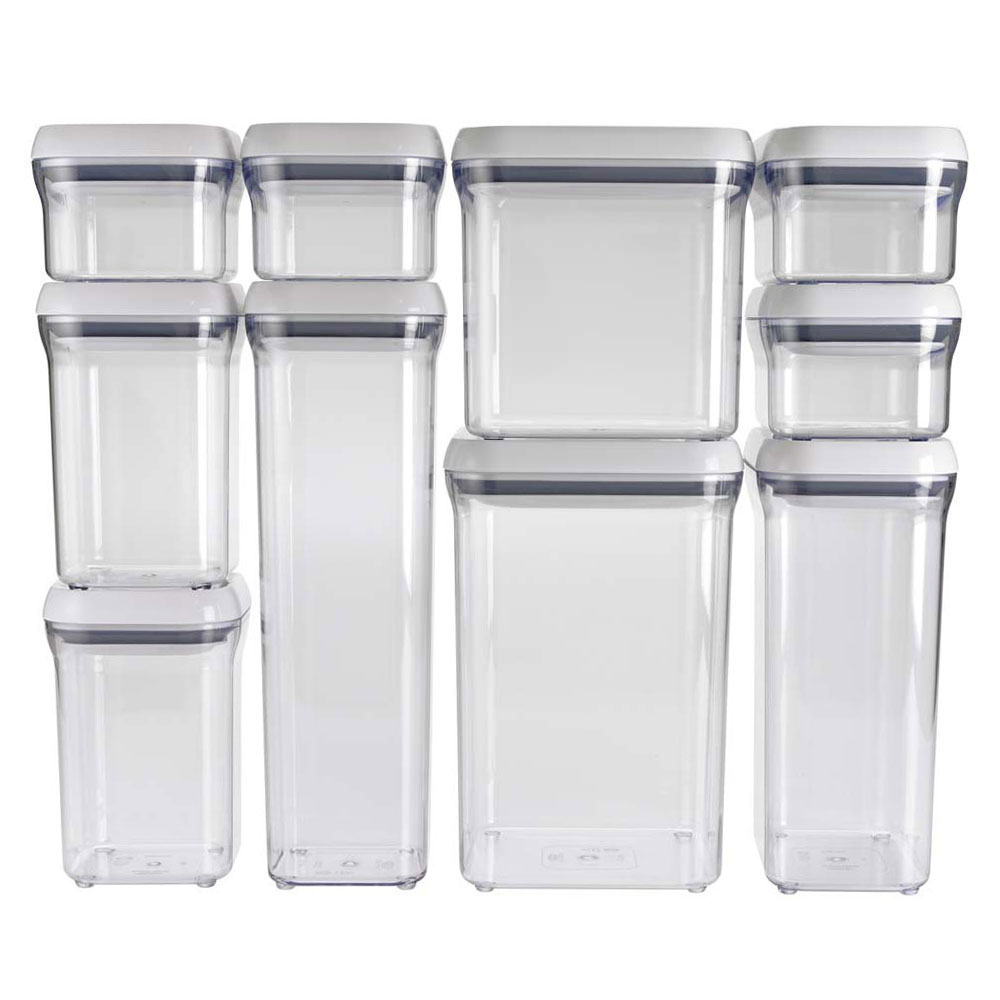 Oxo Good Grips Pop Storage Container Set 10 Piece Cutlery And More