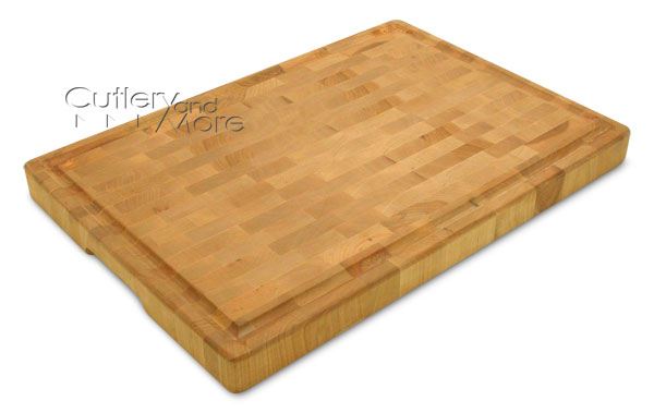 Snow River End Grain Cutting Board With Juice Well 20 X
