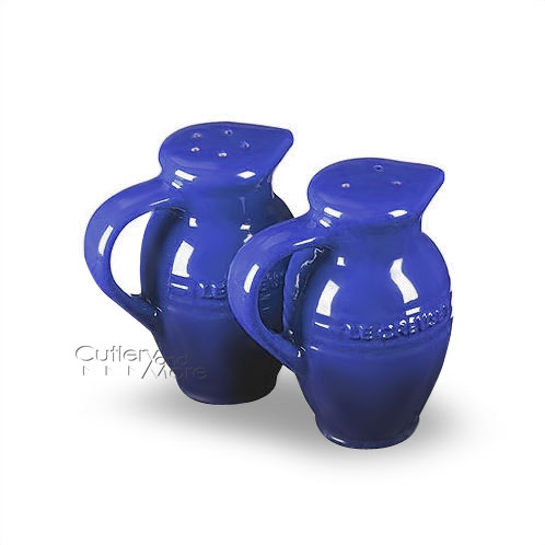 Le Creuset Stoneware Salt Amp Pepper Shakers Cobalt Blue