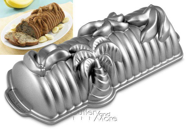Nordicware Platinum Series Banana Bread Pan 6 Cup