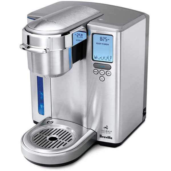Breville Stainless Steel Gourmet Single Cup Coffee Maker