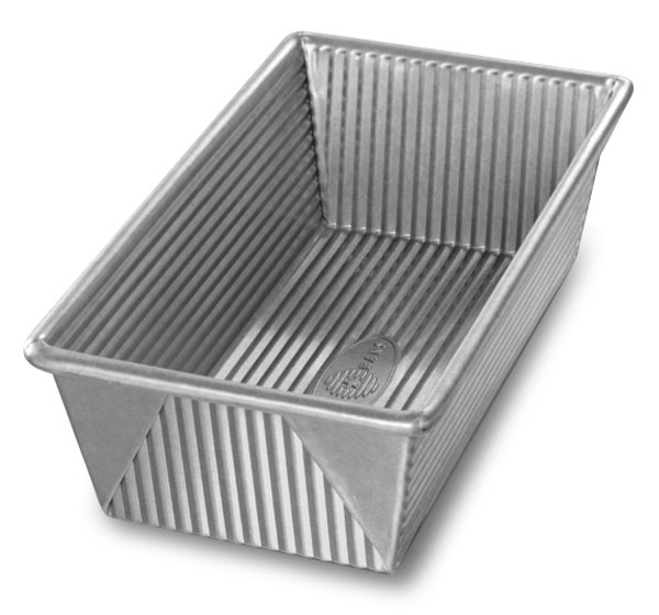 Usa Pans Nonstick Aluminized Steel Loaf Pan 8 5x4 5