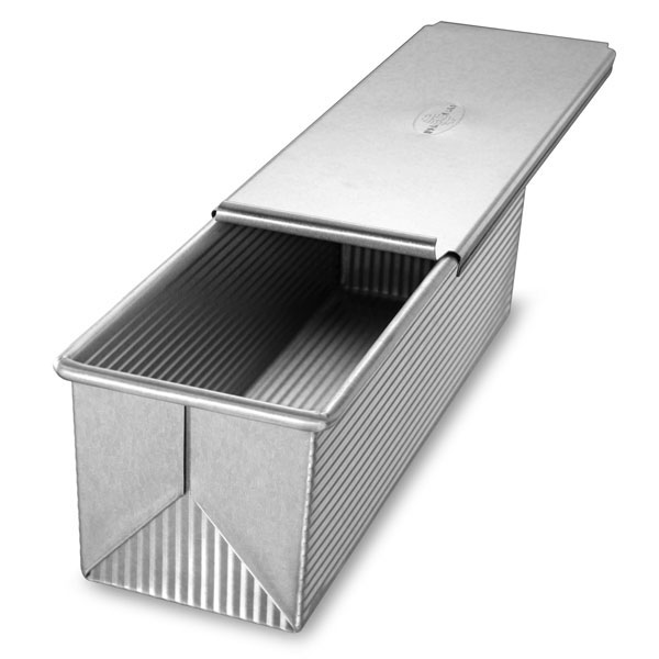 Usa Pans Nonstick Aluminized Steel Pullman Loaf Pan Amp Lid