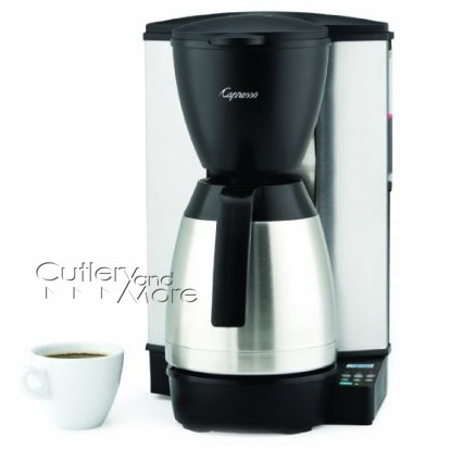 Capresso MT600 Programmable Thermal Coffee Maker, 10-cup Cutlery and More