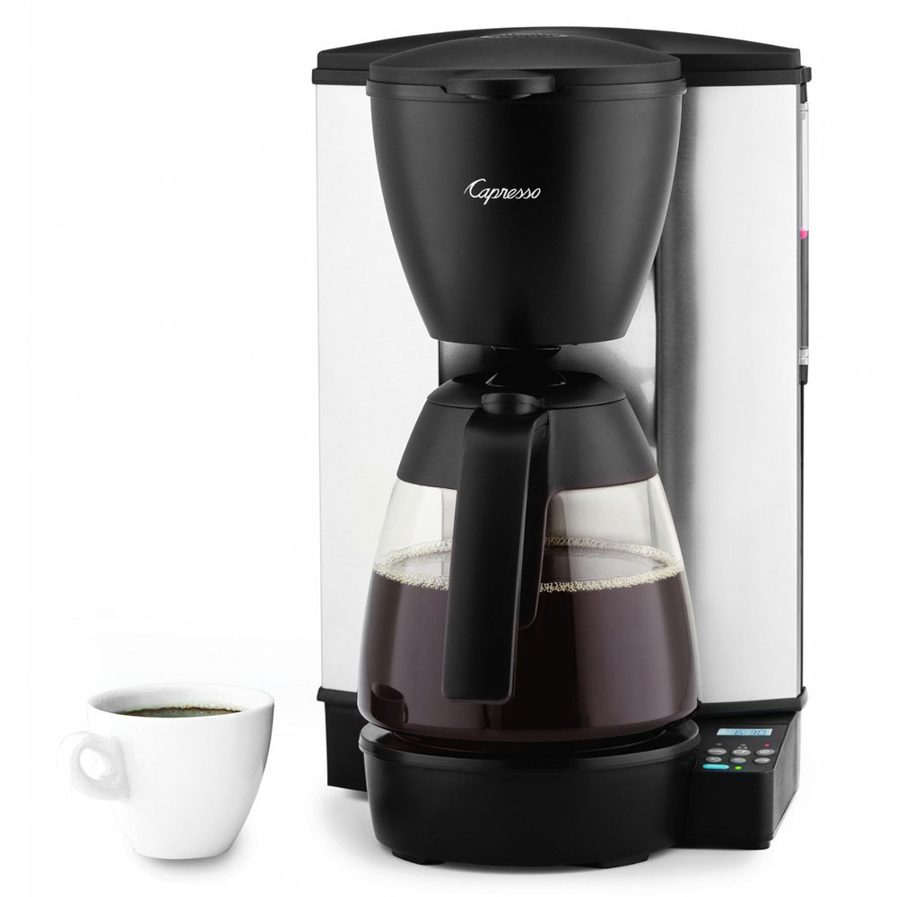 Capresso Mg600 Programmable Coffee Maker 10 Cup Cutlery