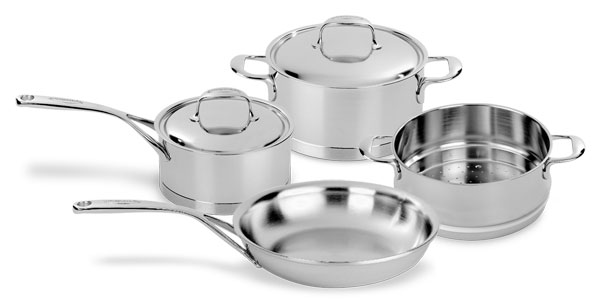 Demeyere Atlantis Stainless Steel Signature Cookware Set