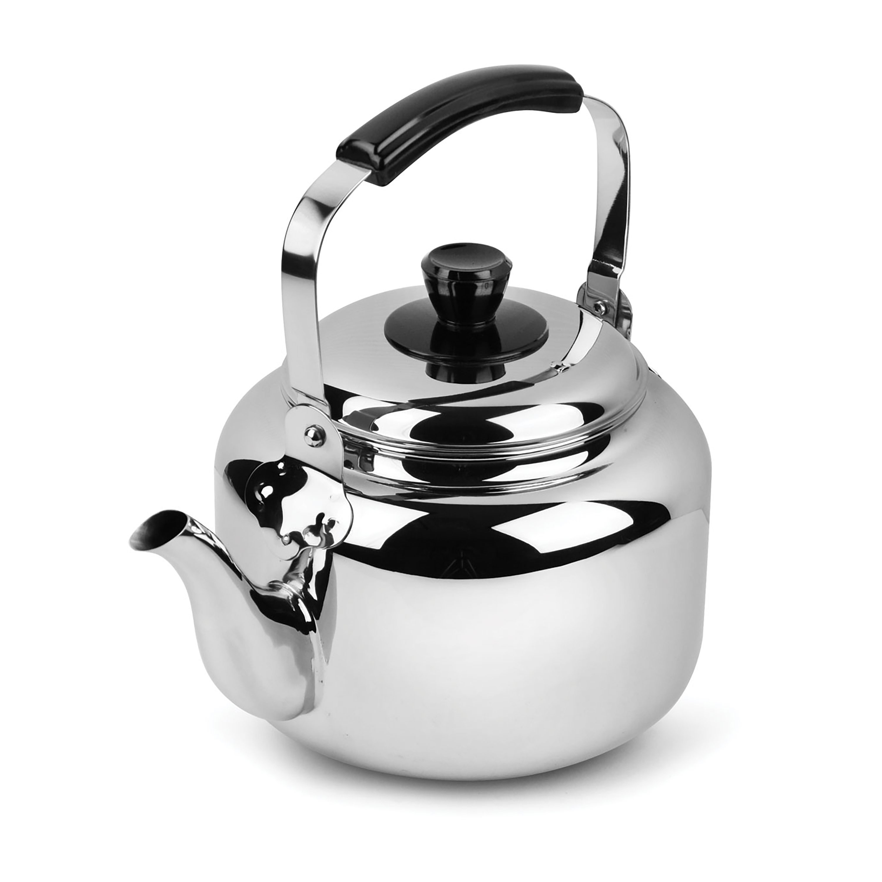 demeyere resto stainless steel tea kettle quart  cutlery and  -
