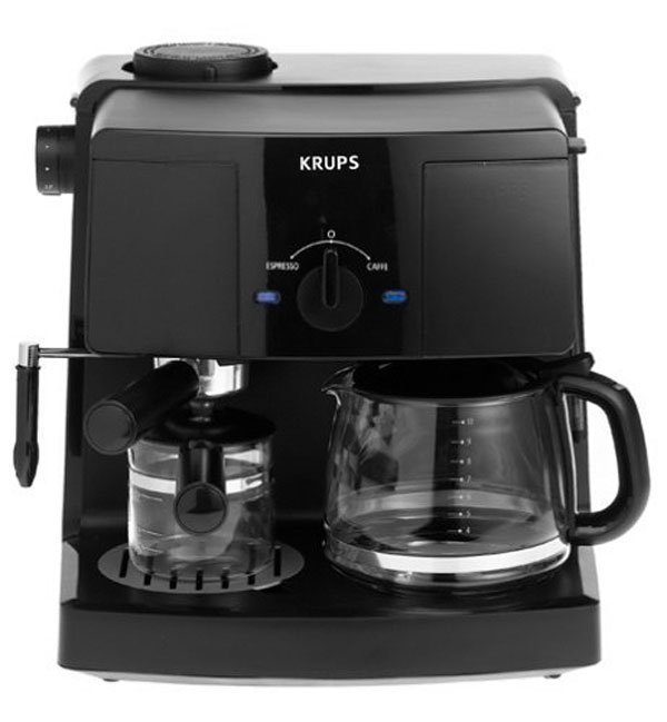 Krups Combination Coffee & Espresso Maker   Cutlery and More