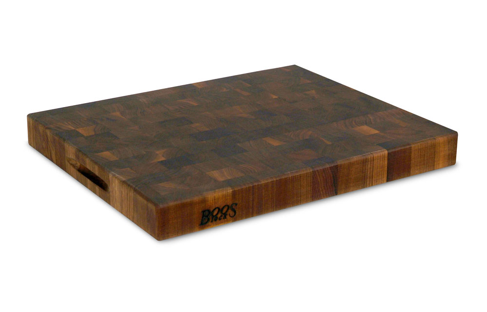 John Boos Walnut End Grain Cutting Board 20 X 15 X 2 25