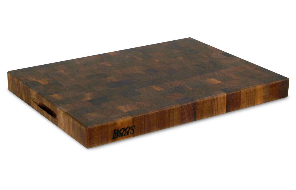 John Boos Walnut End Grain Cutting Board 24x18x2 25