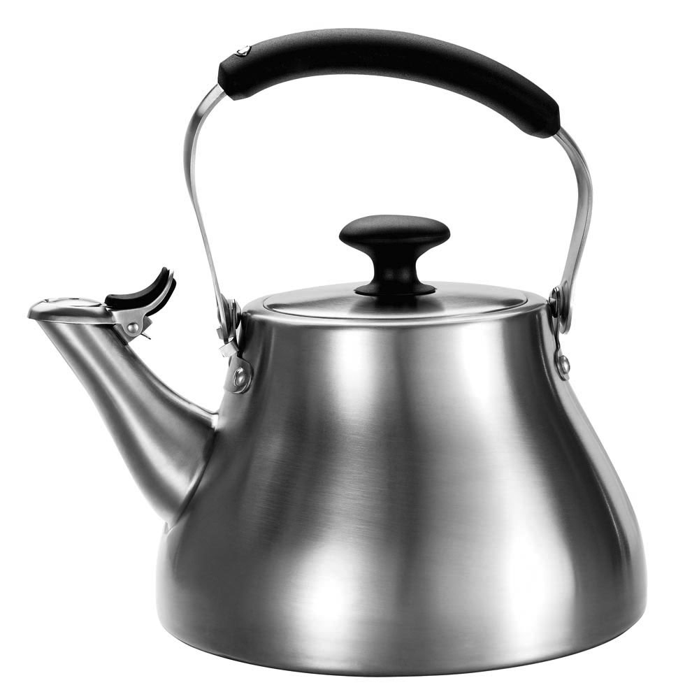 Oxo Brushed Stainless Steel Classic Tea Kettle 1 7 Quart